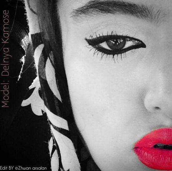 Model: dlnya kamose ©Zhwan Arsalan Face Mask Rsa_graphics_faces Photo Face Model Face