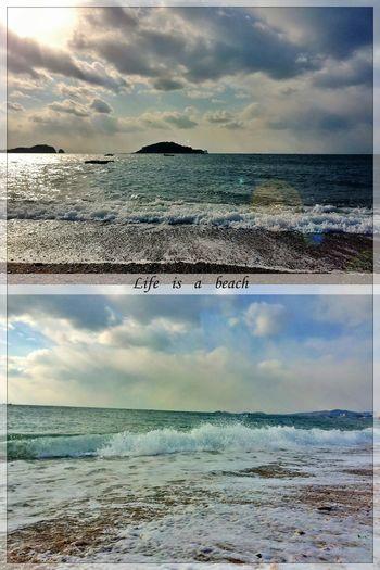 the beautiful seaside in winterLife Is A Beach Wintertime