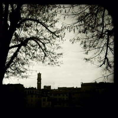 Sightseeing at Verona Antica Claunch 72 Monochrome Film Sightseeing No Flash