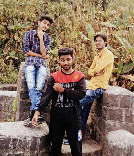 Only Men Outdoors Friendship Hunk Clique