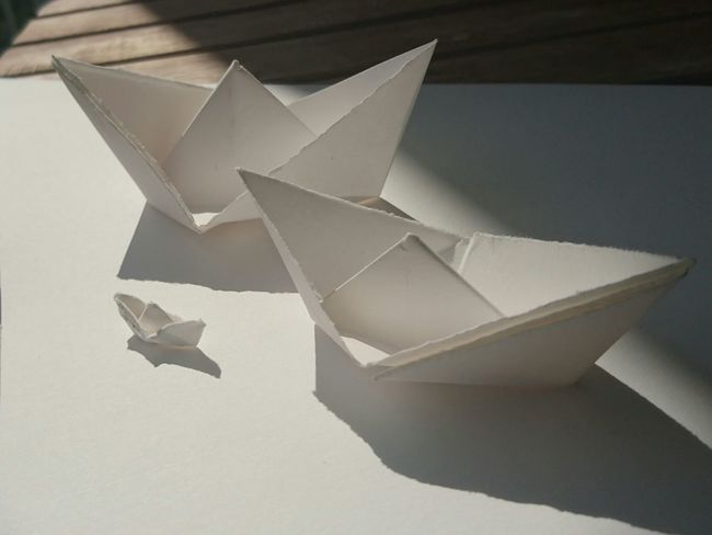 Paper Paper Art Paperwork Paper Boat Origami Boat Stockphotography Stock Photo Stock Image