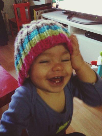 Felicidad, que bonito nombre tienes!!!! Que nunca nada ni nadie te borre esa sonrisa. My Family My Baby Mis Niños!!!! Peque