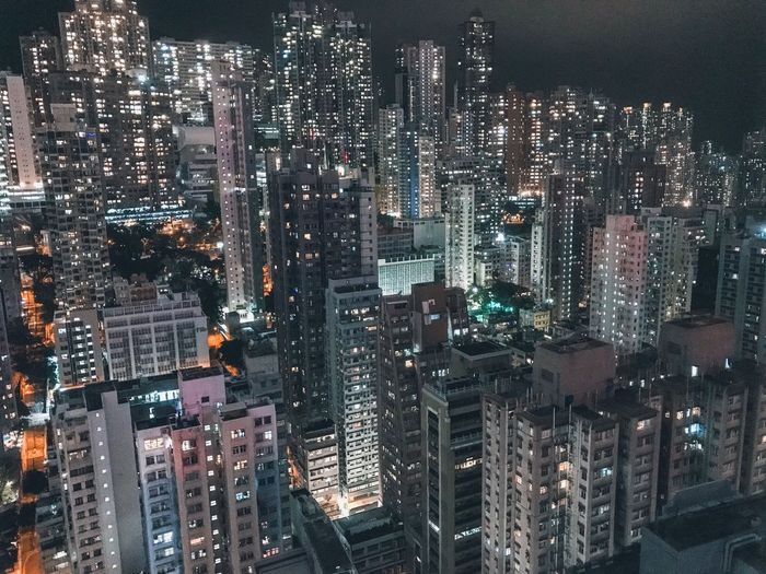 Nightphotography Hong Kong Urban Skyline Travel Architecture Concrete Jungle ShotOnIphone Night Lights Room With A View Building Exterior Cityscape Illuminated Architecture City Built Structure Night Full Frame Building Travel Destinations Office Building Exterior No People Backgrounds Skyscraper Outdoors Nature Residential District Modern