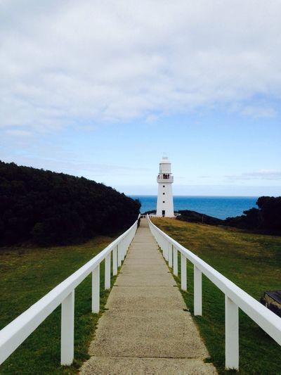 National Park Cape Oatway Australia Lighthouse