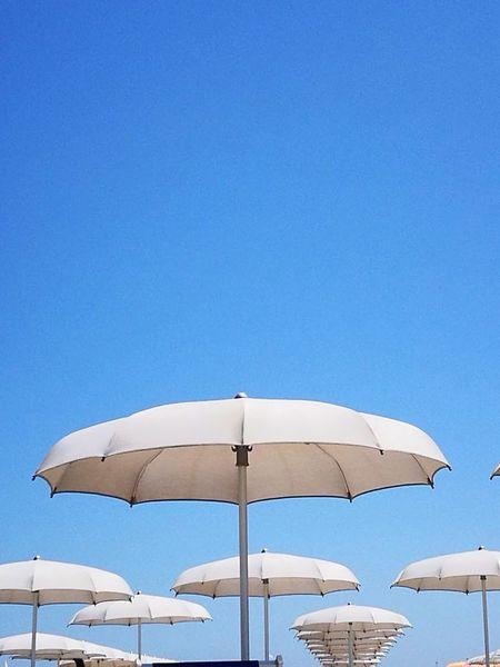 Blue Beach Outdoors Clear Sky Nature No People Sky Spiaggia Mare Adriatico