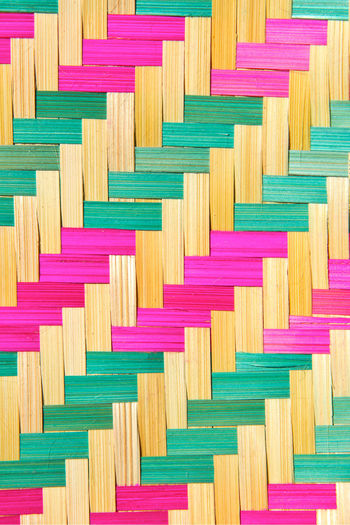 close up of bamboo wooden pattern texture Mat Pattern, Texture, Shape And Form Rattan Weave Wood Art Backgrounds Bamboo Bamboo Wooden Close-up Craft Design Indoors  No People Pattern Pattern Texture Shape Design Weave Pattern Wood - Material