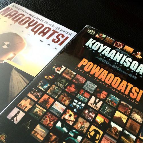 Home alone, movienight. Koyaanisqatsi Powaqqatsi Naqoyqatsi Movienight