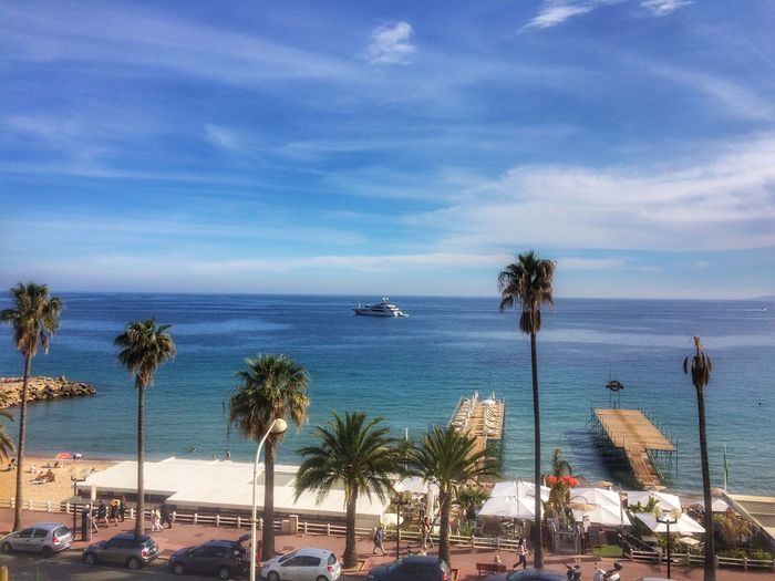 My Morning View Beach Beach Photography Bright Morning IPhoneography Cannes France