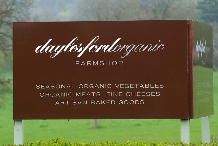Daylesford Organic Farmshop, which sells the produce of the Daylesford Organic Farms and many other products, often referred to as the Harrod's of the Cotswolds. A Cheese Cheeses Cotswolds Daylesford Daylesford Organic Farmshop Dog Dogs Farm Shop Farm Shops Farmshop Farmshops Fruit Gloucestershire UK Harrods, Organic Produce Shop Shopping Shops Uk Vegetable Vegetables Wine Wines