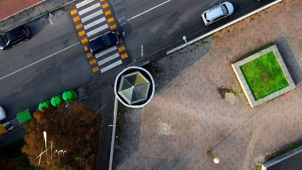 Drone  Dronephotography Drone Shot Architecture Geometric City Parma Photography Photo Shot Xiaomimidrone Green Color Camera Raw Color Colorcorrection Green Nice Outdoors Aerial View High Angle View No People Professional EyeEm Best Shots First Eyeem Photo