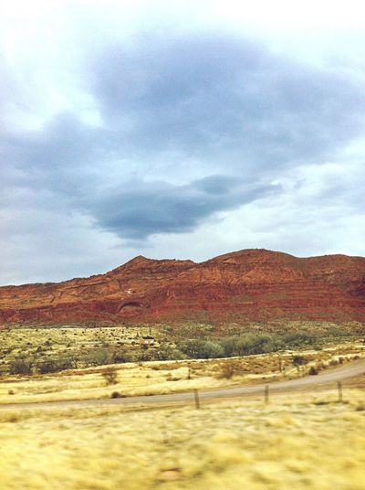 Driving. Incredible views. Roadtrip Road Mountains And Sky Redmountains Nature