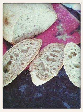 mi primer pan alveolado! gracias @ibanyarza por tus sabias lecciones :D