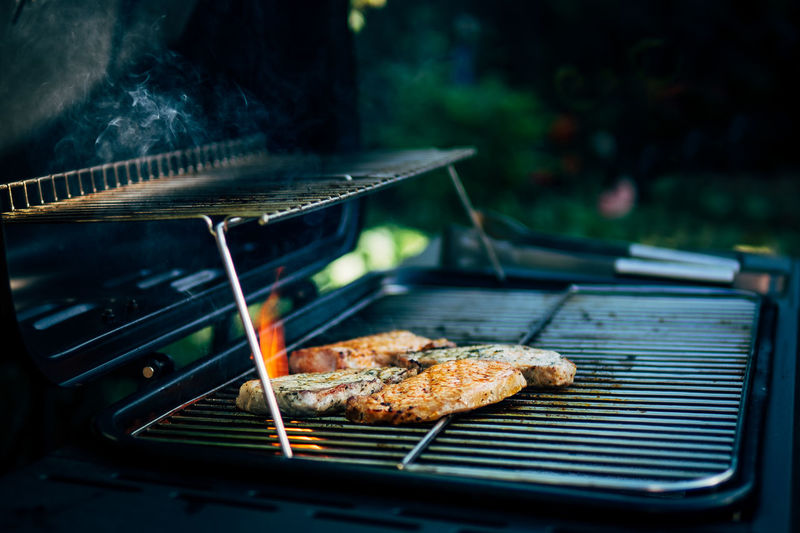 now... here... Barbecue Barbecue Grill Close-up Day Food Food And Drink Freshness Grilled Healthy Eating No People Outdoors Preparation  Smoke - Physical Structure