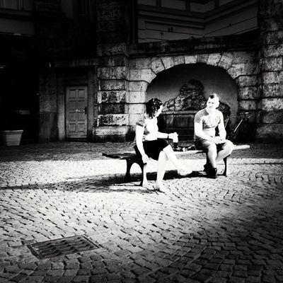 After Work Chat Instamood Igers Streetphotography IGDaily Camera Jj  City Bnw_society Urban Harry Blackandwhite Tweegram Germany Instagood IPhone4s Statigram Photography Instadaily Bw Photoftheday Iphonesia Bwoftheday Instagram Iphonephotography Bnw F_harry Picoftheday Iphonography