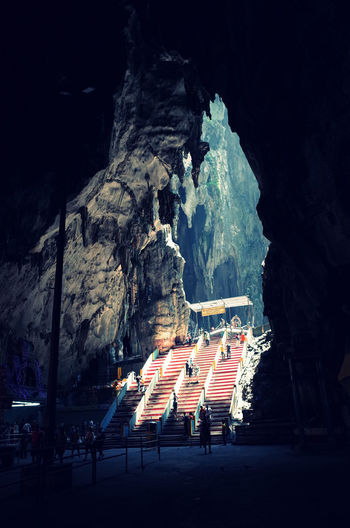People at batu caves