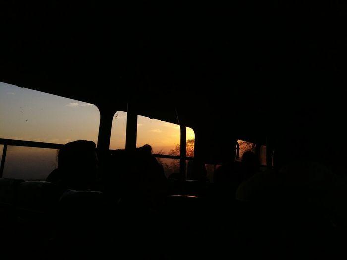 sunset#bus