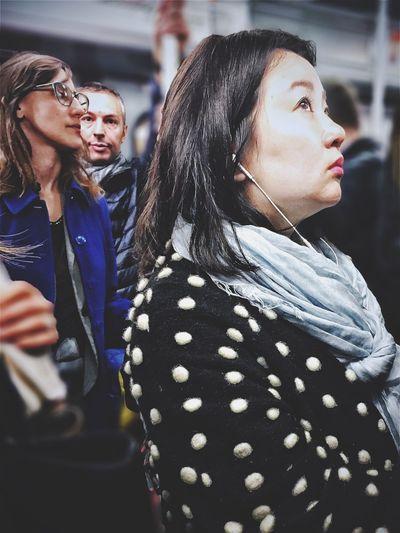 Korean orbs | #ShotOniPhone6S #Hipstamatic app | Snapseed//AfterFocus apps #youmobile Youmobile Wearegrryo Shootermag Underground Women Korean Subway