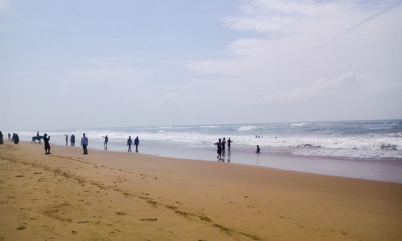 People Walking  People Enjoying Beach Beach Photography Hidden Gems  Bay Of Bengal Beach View Seashore in Ramchandi Beach Odisha India