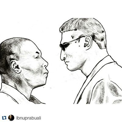 Repost @ibnuprabuali with @repostapp Tyson MikeTyson Golota
