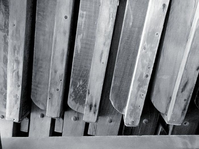Dusty Day Egypt Light And Shadow Mobilephotography Wooden Wooden Desk Blackandwhite Black And White Black & White Parallel Metal Wood - Material Close-up Nail Repetition LINE Tool Full Frame Many Arrangement In A Row Order Screw Backgrounds Carpentry