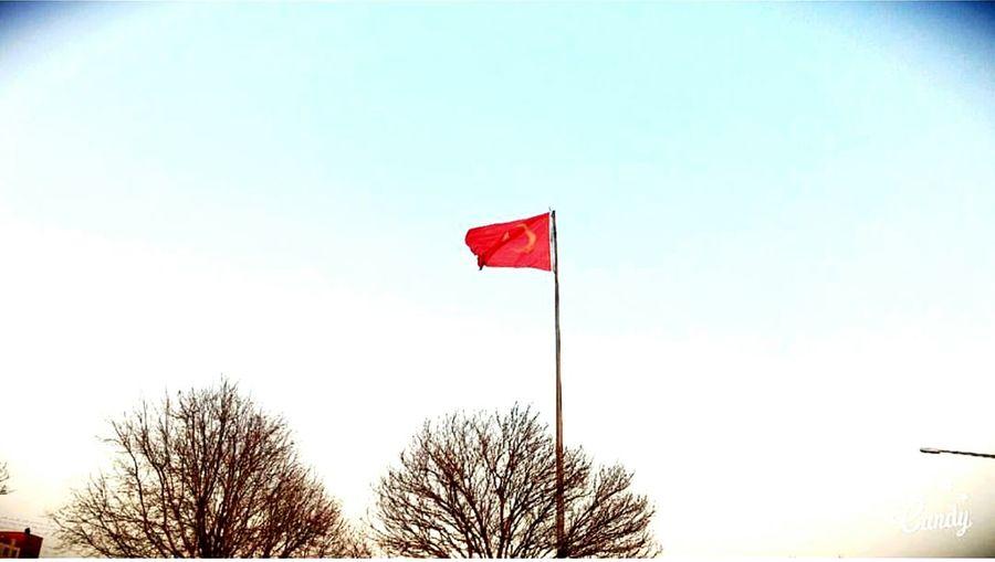 Flag Sky Turkey❤