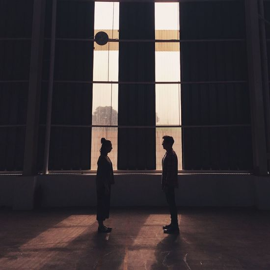 Enjoy The New Normal Couple Two People Lifestyles Sunset Shadow Shadows & Lights Sunlight Lights