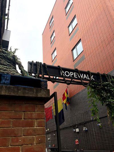 Rope Walk # London secret Street London Secrets London Architecture Building Exterior Built Structure Building Sky Brick Residential District No People Day First Eyeem Photo