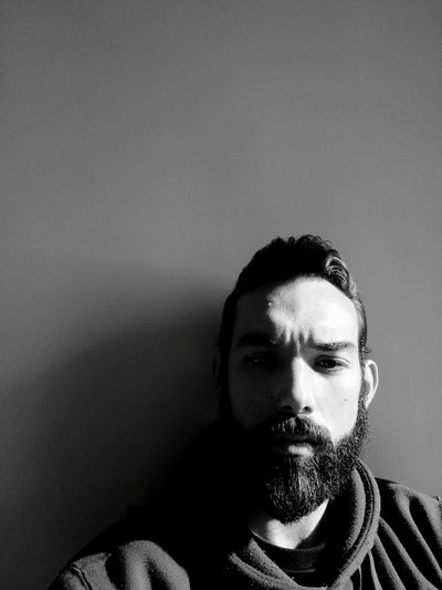 B&W Portrait Me Selfie Beard Beardedmen BadassBeard Sunlight Blackandwhite Self Portrait Mature Adult One Person Front View Portrait Human Face Adults Only Headshot Looking At Camera Real People Indoors  People Adult Close-up Only Men