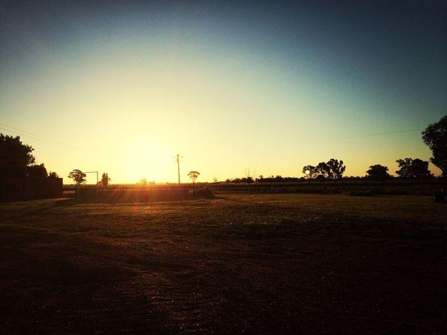 Sunset.... Beautiful Sunset in Australia
