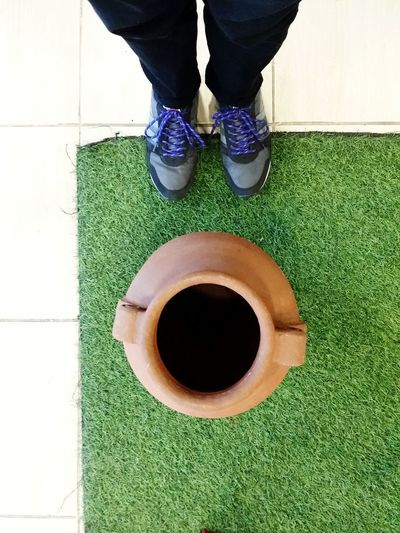Jar. From My Point Of View Showcase: February Jar Grass Shoes Shoefie Shoe Selfie From Above  Shoe Love Brown Jar Black Shoes Eyeem Photography Eyeem Philippines The Week On EyeEm Black Pants Shoes And Pants Shoes Of The Day Jars  Jars Selfie From Where I Stand Selfie Portrait