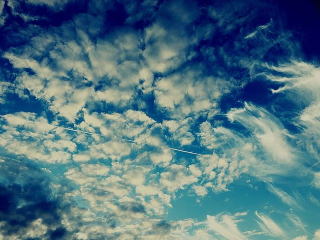 Cloud - Sky Beauty In Nature Sky Nature Scenics Majestic Blue Atmospheric Mood Tranquility Cloudscape Tranquil Scene Outdoors Heaven