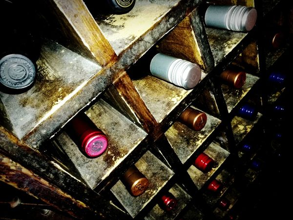 Wine Cellar Wine Cellar Full Frame Backgrounds Close-up