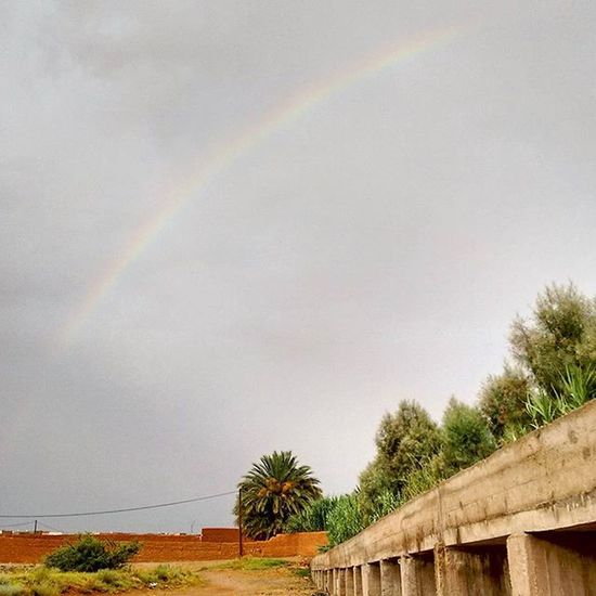 Rainbow in Errachidia. Photooftheday Photo Photoshoot Errachidia moroccotraveltips morocco