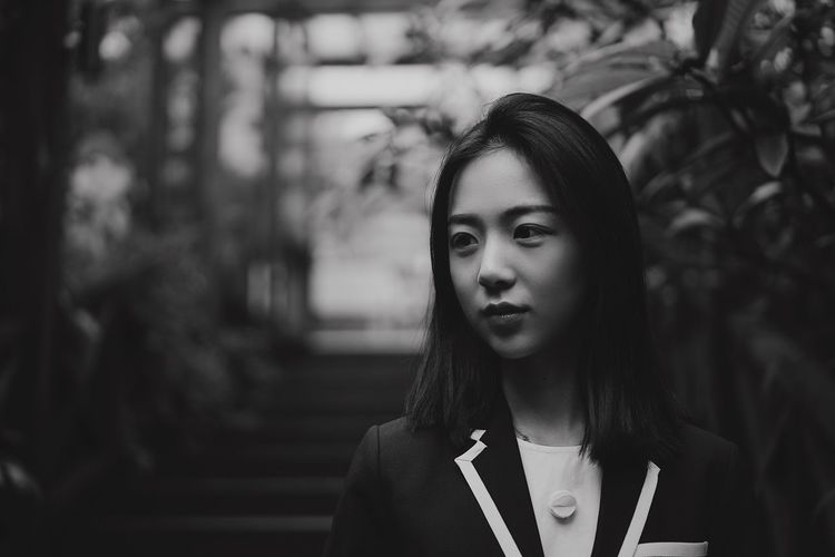 FloraBlack Young Adult Real People Front View One Person Young Women Focus On Foreground Long Hair Outdoors Tree Women Day Beautiful Woman Close-up Adult People EyeEmNewHere Art Is Everywhere Architecture The Portraitist - 2017 EyeEm Awards Live For The Story