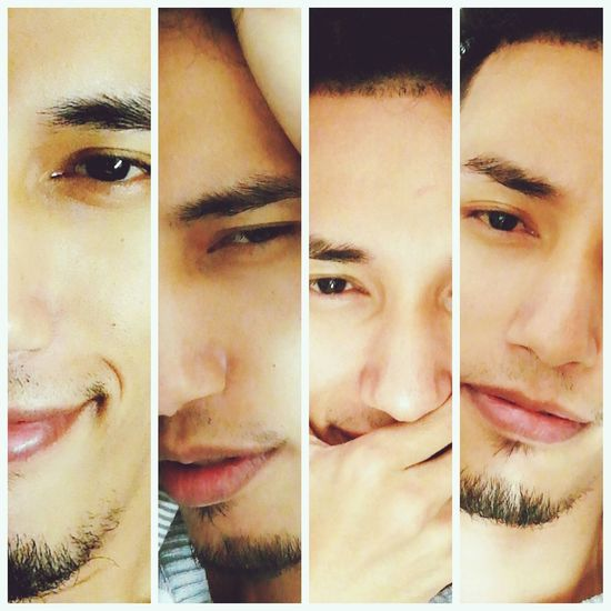 4pics 1word... Human Face Portrait Close-up Beauty Human Eye Adult Young Adult Handsome Looking At Camera Front View One Man Only