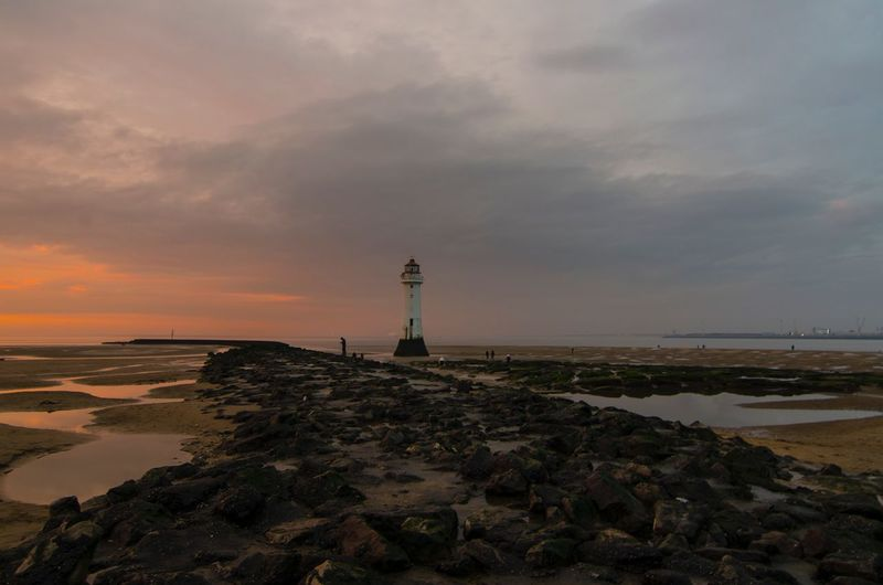 New brighton lighthouse New Brighton Beach Perch Rock New Brighton Lighthouse Wallasey Merseyside Wirral Northwest Sunset Nikonphotography Nikon Photography Sunset Photography Liverpool England Liverpool Photography Cheshire Long Exposure Reflection Newbrighton Perch Rock Lighthouse Traveling Scouse Sea Sky Water Beach Tower Guidance Cloud - Sky