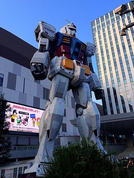 ガンダム お台場 Gundam 1/1 Tokyo 東京 ロボット Robat First Eyeem Photo