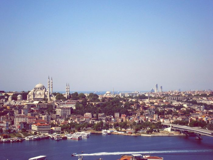 Cityscapes Istanbul Turkey City View  Taking Photos