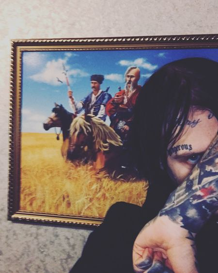 Tattoo tattoo life Tattooboy Tattooface Tattooartist  Tatoo Real People Women Group Of People Adult Lifestyles People Men A New Perspective On Life