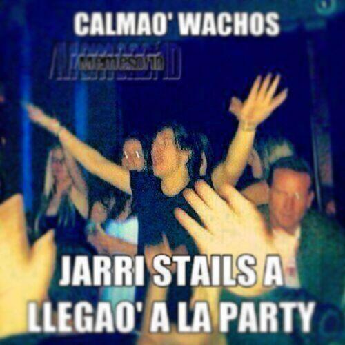 Jarri Stails Love Party lovely smile wachos night hello hahahaha