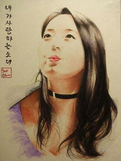 정두리 Missmaxim Paint Esedy Koreanpainting