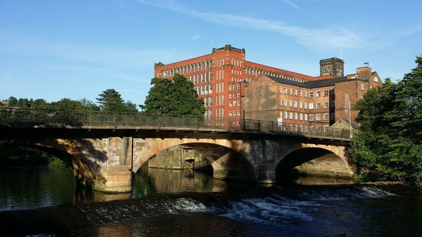 Belper Bridge - Man Made Structure Water Architecture River Day Sky Outdoors