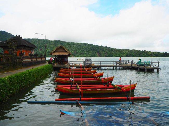 ⛰🛶🛶⛰ Travel Tabanan, Bali, Indonesia Bali Bali, Indonesia Beauty In Nature Capture The Moment Exceptional Photographs Tadaa Community Still Life Water Mode Of Transport Travel Destinations Landscapes Nature Transportation Tranquility Boat Outdoors Mountain Mountain Range Water Reflections Scenics Cloud - Sky Lake Multi Colored Been There.