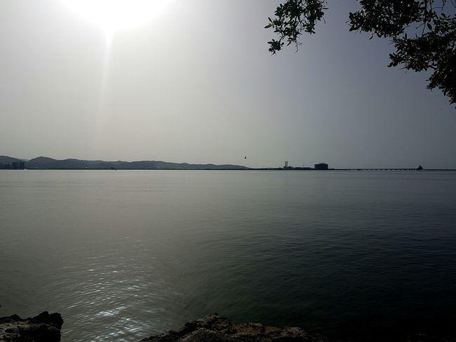 Relaxing Enjoying Life Water Puertorico Guayanillapr Morning