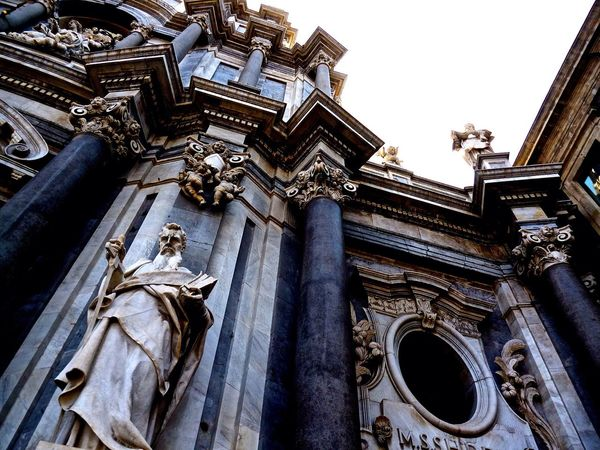 Cathedral Cathedrale Catania Catania, Sicily Catania Sicily In Catania Italy Old Buildings Sicily Amazing Architecture Cathedral Sant'Agata in Catania The Architect - 2016 EyeEm Awards