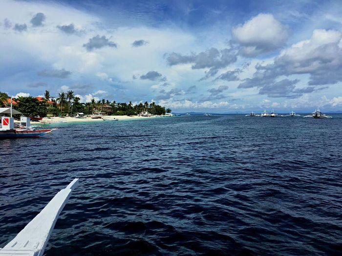 Amazing Philippines Sea Nautical Vessel Water Mode Of Transport Transportation Boat Cloud - Sky Sky Nature Day Rippled Tranquility Tranquil Scene Scenics Outdoors No People Beauty In Nature Moored Yacht Sailing EyeEmNewHere EyeEm Selects EyeEm Gallery EyeEmBestPics Eye4photography