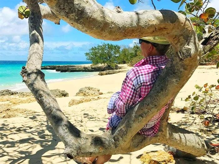 Beach Land Water Leisure Activity Sand One Person Sea Nature Real People Sitting Casual Clothing Beauty In Nature Three Quarter Length Outdoors Lifestyles Sky Relaxation Day Sunlight
