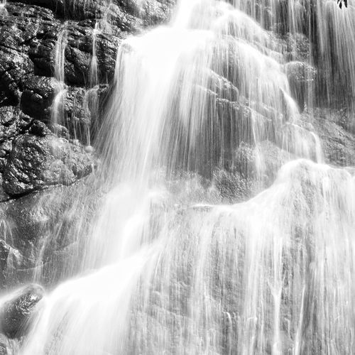 Waterfall Scenics - Nature Motion Long Exposure Beauty In Nature Rock - Object Rock Blurred Motion Solid Flowing Water Forest Water Nature Environment Rock Formation Flowing Land No People Outdoors Power In Nature Rainforest Falling Water