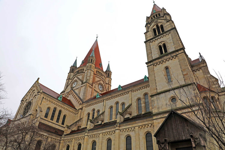 St. Francis of Assisi Church, Vienna Architecture Building Exterior Built Structure Place Of Worship Religion Belief Building Spirituality Sky Nature St. Francis Of Assisi Church, Vienna St. Francis Of Assisi Church Vienna Vienna_city Vienna, Austria Vienna Austria Vienna View  Mexikoplatz Mexico Church Mexikokirche Kaiserjubiläumskirche Kirche Zum Heiligen Franz Von Assisi Church Church Architecture Austria ❤