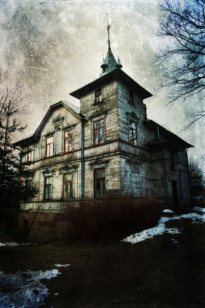 haunted house in Riga, Latvia, processed with grunge texture Abandoned Abandoned Buildings Architecture Bare Tree Building Exterior Built Structure Dark Darkart Decay Grunge GrungeStyle Haunted Haunted House House Latvia Mysterious Old Old House Outdoors Riga Scary Spooky Textured  Vintage Style Wooden House